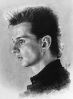 Young Dave Gahan by mellam5