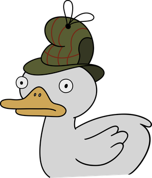 Gravity Falls - Duck-tective by TimeImpact