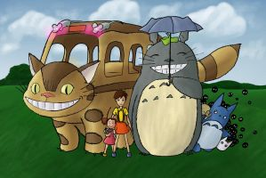 My Neighbor Totoro by Mattierial