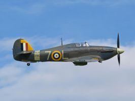 Sea Hurricane flypast 6 by davepphotographer