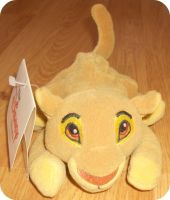 My Disney Store Simba Beanie by DrOpDeAdShElLy