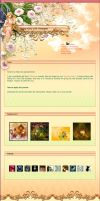Spring Fairy CSS Template by Lilyas