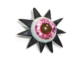 pin's oeil / Eye pin's by glo0bule