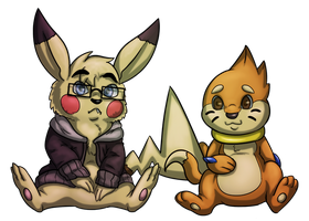 Chibi BRos by the-b3ing