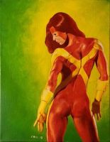 Jean Grey by maxspider72