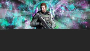 chris redfield xbox 360 wallpaper by vamp1646