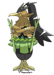 Farfetch'd Fakeevolution by Phatmon