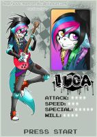 Pixel Fighter ID - Luca by MoonyWings