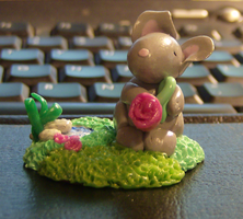 Finished Mouse No. 2 by DKayCrafts