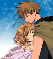 TRC: Sakura and Syaoran Love by barbypornea