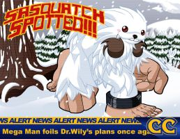 Darkstalkers Tribute Sasquatch by rongs1234