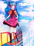 miku : in random place (?) fuuu by Ciel-Heartfilia