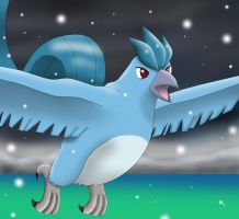 Articuno by PhoenixWulf
