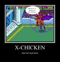 X-Chicken by Starwarsclub123