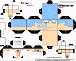 Cubee - Grimmjow - BLEACH by AnimeShark20