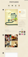 Premium Retro Tumblr Theme by awhin
