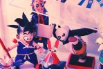 Papercraft Collection Dragonball Goku by Craftyh4nds