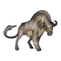 Wildeast -fakemon by AetherEch0s