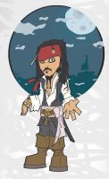 captn jack sparrow by florey