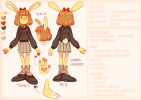 OC sheet: Clara by supremecatlord