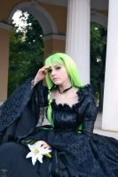 C.C. black dress by Haruhi-tyan