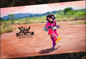 Momohime from Muramasa::::::: by Witchiko