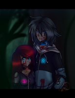 Night-....Ruto and Ryutho by gisselle50