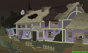 Trixies cottage by Vector-Brony