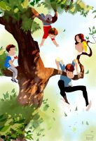 All in the family by PascalCampion