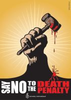 Amnesty Death Penalty Poster by turboweevel