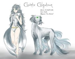 Caoimhe Colquhoun: Character Sheet by foxberrystudios