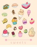 Food doodles by Keira-Bui