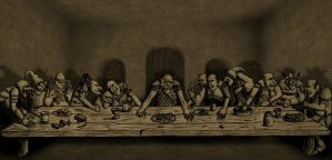 The Goblin Supper by Mortis-of-midian
