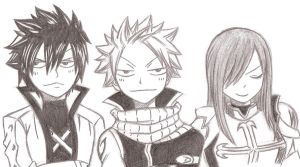 Fairy Tail Team A by Chocogirl3
