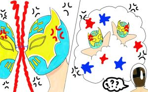 sin cara VS sin cara by sweety9547