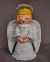 Crochet Angel by W0IfDreamer