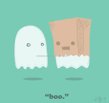 'Boo.' by designslave
