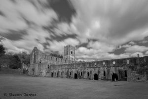 Fountains Abbey 1 by StevenJames1982
