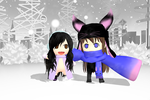 MMD NC: Winter Pals by Purple-RageMMD