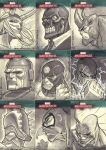 Marvel Masterpieces III Set 7 by jeffwamester