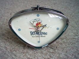 BoomeRang Clock from CN by spaceman022