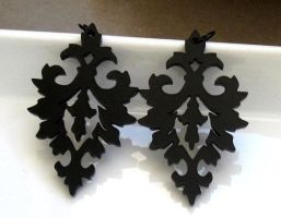 Damask earrings by baronyka