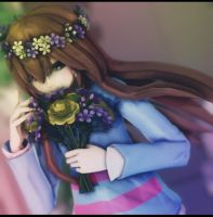 Flower Child by TheLadyMadHatter