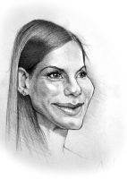 Sandra Bullock by Nico4blood