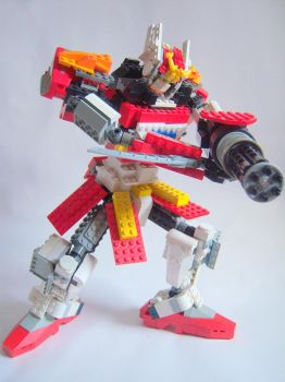 Lego Gundam Heavy Arms 5 by Evil-Cozmo