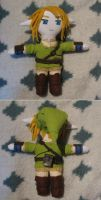 Twilight Princess Link Plush by MarlinGrey