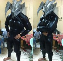 Muscle suit test fit by Constrictorz