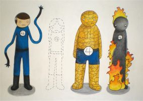 Fantastic Four by mogwok