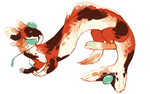 Calico Dragon (FLASH AUCTION) CB: $60 by odvunir