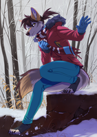 Winter Tes (Linework by Orphen-Sirius) by Tsebresos